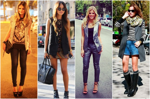 maxi colete fashion