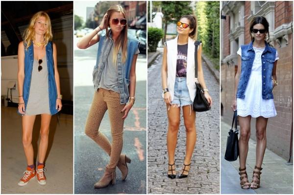 maxi colete jeans