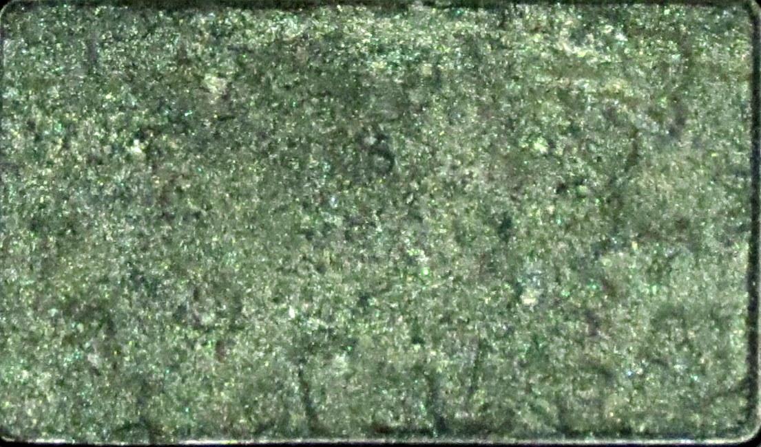 testei review sombra em pó compacta esmeralda shimer dourada barata preço bom