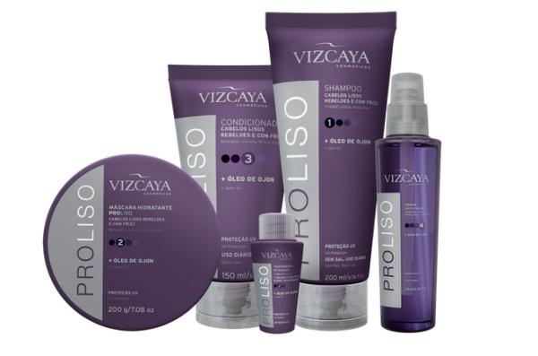 marca vizcaya produtos shampoo condicionador mascara ampola frizz ajuda controla liso mais liso olho de ojon resenha review testei