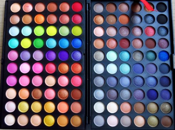 resenha review testei é bom é boa como usar produto paleta pallete 102 120 cores colorida neutra bonita qual modelo simples basica para o dia a dia neutras lojas confiaveis china ebay