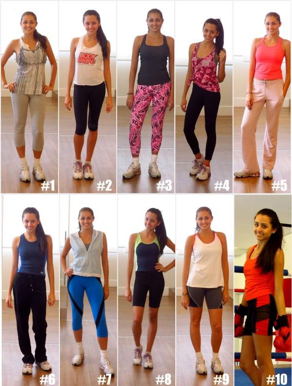 dicas de como se vestir looks para malhar academia gym como se assumar mulher menina jovem adolescente roupas legging moletom regata top colete