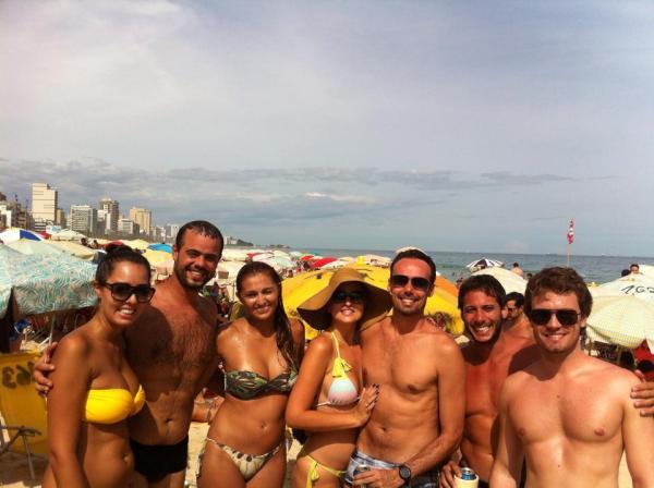 beach copacabana carnaval praia