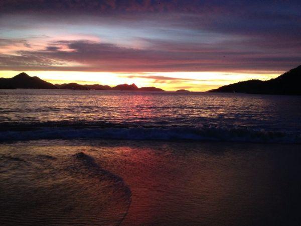 Praia Vermelha Urca Rio de Janeiro Brasil