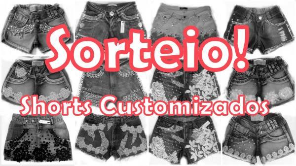 sorteio shorts customizados tutti para elas loja online goiânia customização