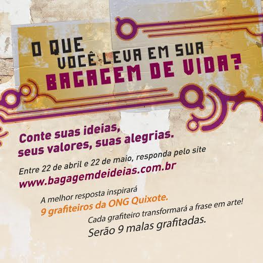 Concurso Cultural Bagagem de ideias Atlantica Brasil